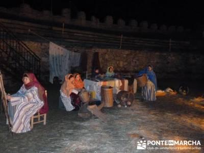 Senderismo Sierra Norte Madrid - Belén Viviente de Buitrago; senderismo en cuenca